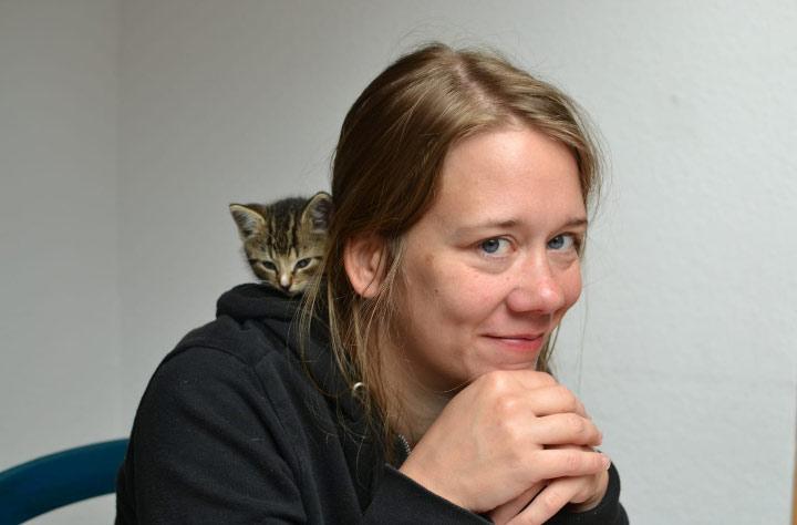 Jeanine Terwiel unterstützt den Verein KIS Ruhr.